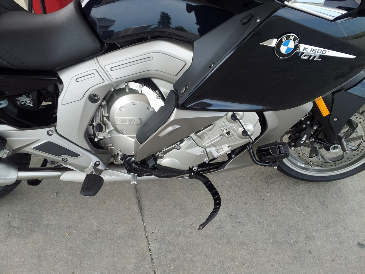 cvm touring accessories - bmw motorcycle highway pegs